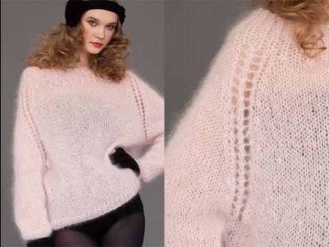 #29 Mohair Sweater, Vogue Knitting Winter 2011/12
