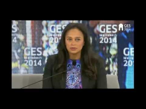 Global Entrepreneurship Summit - Interview with Isabel dos Santos