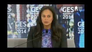 Global Entrepreneurship Summit - Interview with Isabel dos Santos