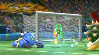 Mario And Sonic at the Rio 2016 Olympic Games | Team Sonic vs Team Yoshi  #5