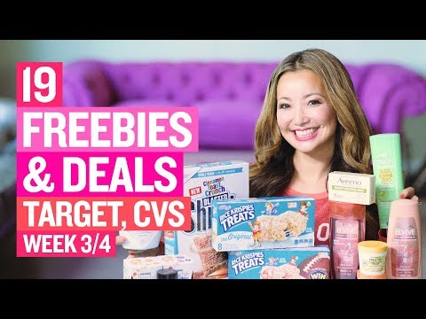 ★19 FREEBIES & Deals at Target & CVS (Week 3/4-3/10)