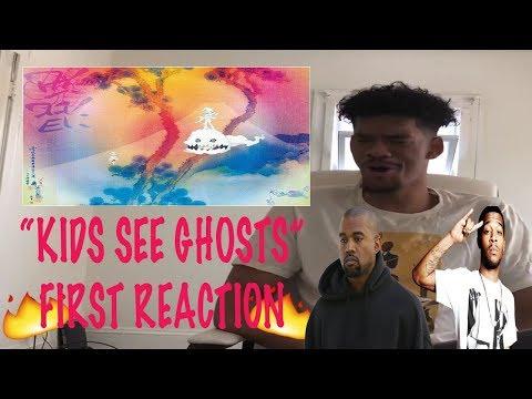 Kanye West & Kid Cudi - Kids See Ghosts (REACTION/REVIEW!)