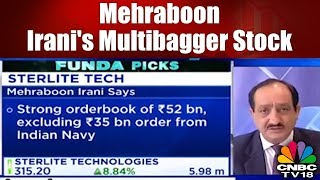 Multibagger Stock | Mehraboon Irani on Sterlite Technology: Stock will Touch Rs 500 in 12-18 Months