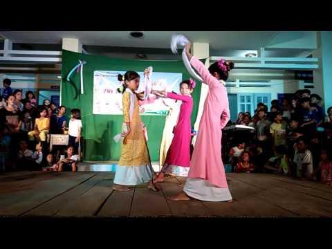 Múa Chăm | HS Tiểu học Phan Hòa 2, Bắc Bình, Bình Thuận | Chương trình VUI TẾT THIẾU NHI 01/6