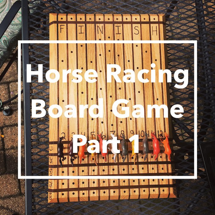 DIY Horse Racing Board GamePart 40 YouTube Fascinating Wooden Horse Race Game