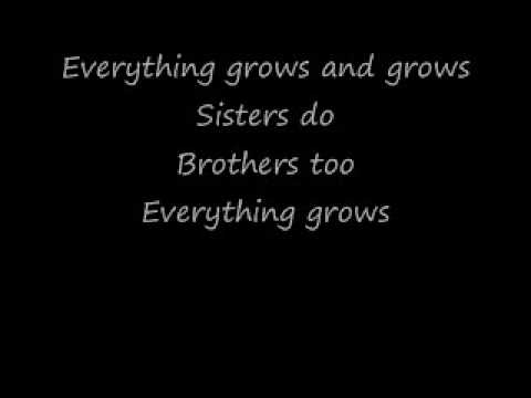 Everything Grows by Raffi with Lyrics