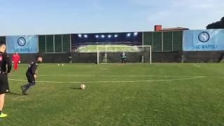 VIDEO - Insigne vs Sepe, gol del Magnifico!