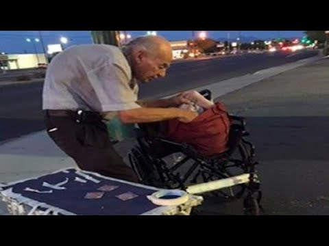 Old Man Spends Every Night on Corner – People Ignore Him Until One Stranger Finds out Why