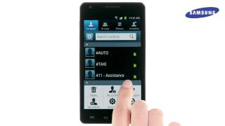 Infuse 4G Copy Contacts to from SIM card