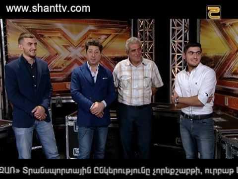 X-Factor4 Armenia-Auditios4 - 30.10.2016