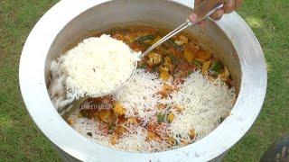 Veg Biryani Recipe | Street Food