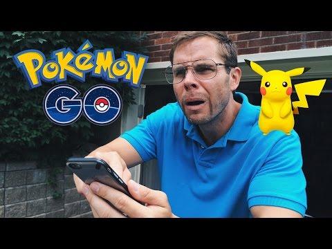 Dad Tries to Play Pokemon GO