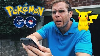 Dad Tries to Play Pokemon GO