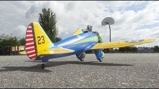 Boeing P 26 Peashooter Maiden flight
