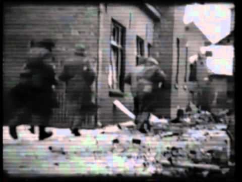 Braganza & Unique WW2 footage Susteren, Limburg