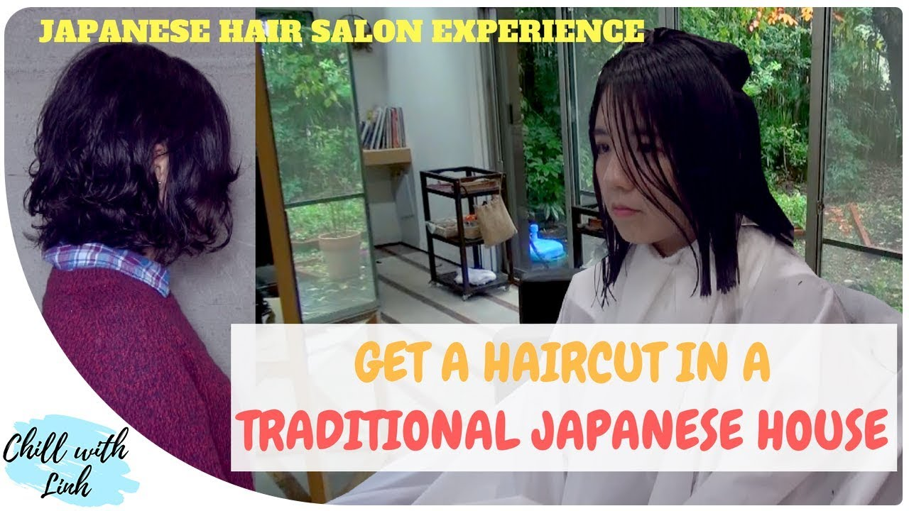 Japanese Hair Salon Getting A Perm In Traditional Japanese House