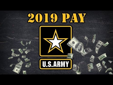 2019 Army Pay