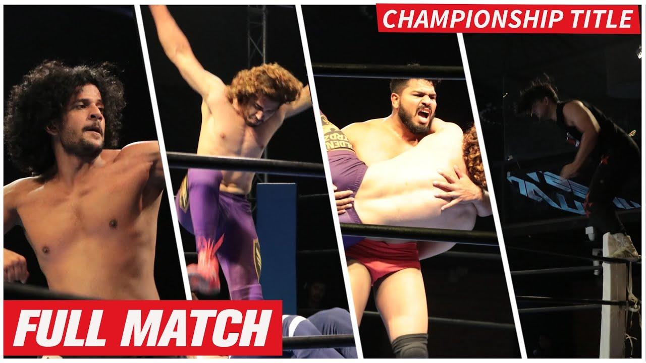 Intercontinental Championship Match- Wrestling India