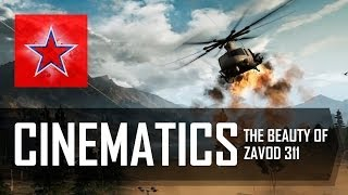 The beauty of Battlefield 4 - Zavod 311 cinematics