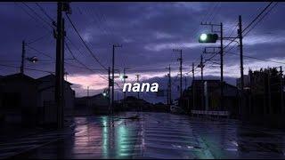 nana by the 1975 w/ rain