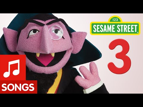 Sesame Street: Number 3 Number of the Day Song