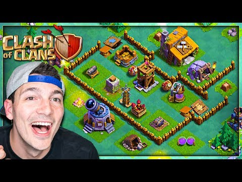 BEST BUILDER BASE Level 3 - Clash of Clans