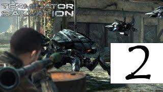 Terminator Salvation game прохождение игры 2 - Глава 3: Новые Знакомства