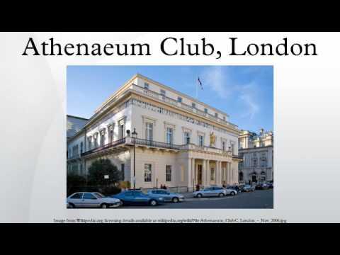 Athenaeum Club, London
