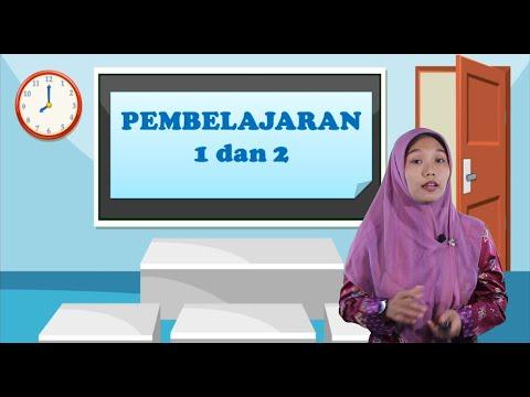 Video Pembelajaran Kelas 1 Tematik Tema 1 Subtema 3 Pembelajaran 1 & 2
