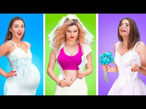 Типы невест / 13 забавных и неловких ситуаций