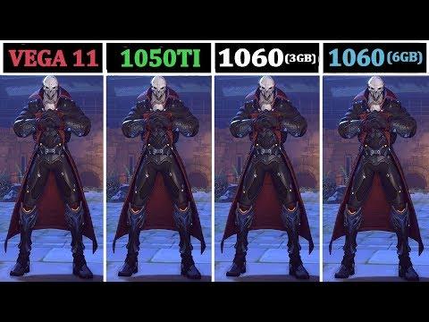 Ryzen 2400G (VEGA 11 Vs 1050ti Vs 1060 3GB/6GB) | Tested 15 Games |