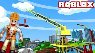 İnşaat İşçisi Oluyoruz!! - Panda ile Roblox DemoVille - Demolition Simulator