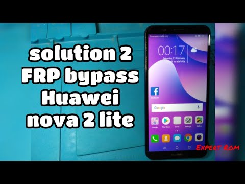 Solution 2 Bypass Frp Lock Huawei Nova 2 Lite Android Security Patch 1 August 2018 Youtube