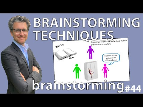 Brainstorm Techniques - Brainstorming #44