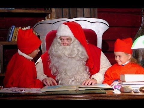 Petit Papa Noël & les secrets des lutins du Père Noël - Laponie Finlande Rovaniemi Elfs enfants