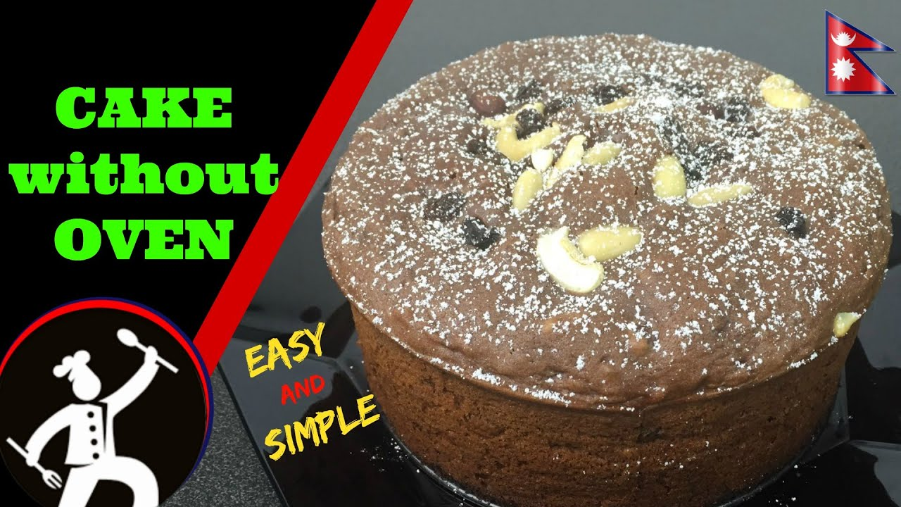 Chocolate Cake Recipe In Pressure Cooker Eggless Baking Without Oven English Suble 48 Youtube