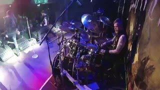 KAMPFAR@Troll, Død Og Trolldom-live in Poland 2016 (Drum Cam)