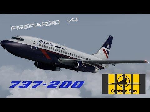 Repeat First Look - Captain Sim 737-200 in Prepar3Dv4 by