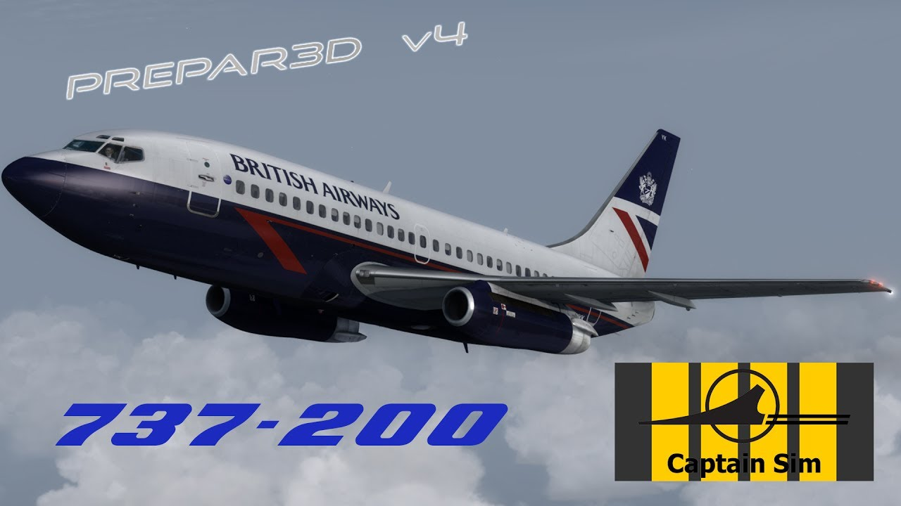 First Look - Captain Sim 737-200 in Prepar3Dv4