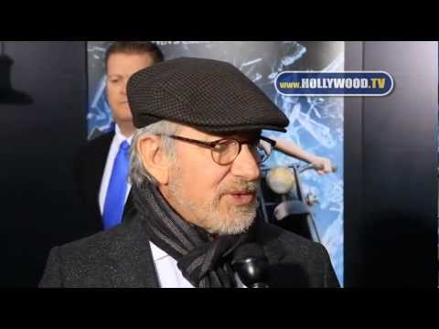 Steven Spielberg, George Lucas, Jake T. Austin, Bill Hader at