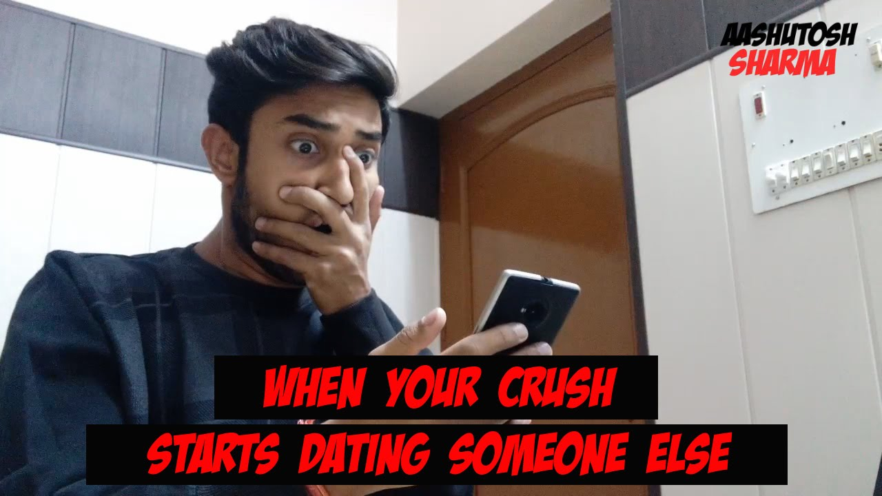 How to deal with crush dating someone else