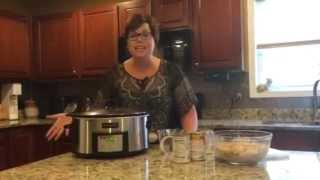 Mom's Crockpot Chicken Noodles Recipe