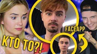 PYSIA zgaduje JAKI TO YOUTUBER! FaceApp Challenge – zmieniam youtuberów! [KOSPER]
