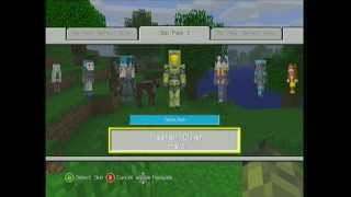 Xbox 360 Minecraft Skins OUT NOW!!!