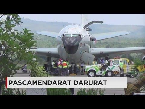 Pesawat Militer AS dari Diego Garcia Jemput 14 Kru di Aceh; Pascamendarat Darurat