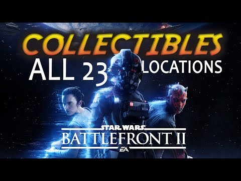All 23 Collectible Locations | Star Wars Battlefront 2 (Collectible Guide)