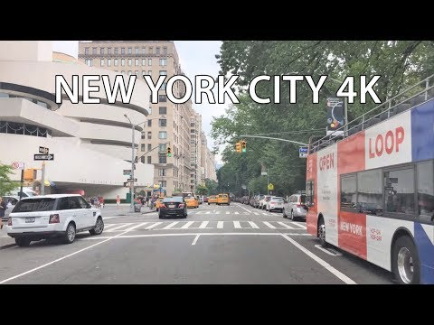 Driving Downtown 4K - NYC