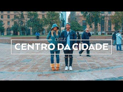 CENTRO DE SANTIAGO   CHILE   VLOG #32   Rodrigo e Beta
