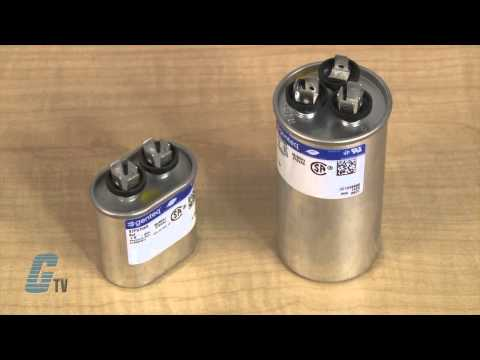 Run Capacitor 5 Mfd Single 370 Volts Youtube. Wiring. 97f9003 Capacitor Wire Diagram At Scoala.co