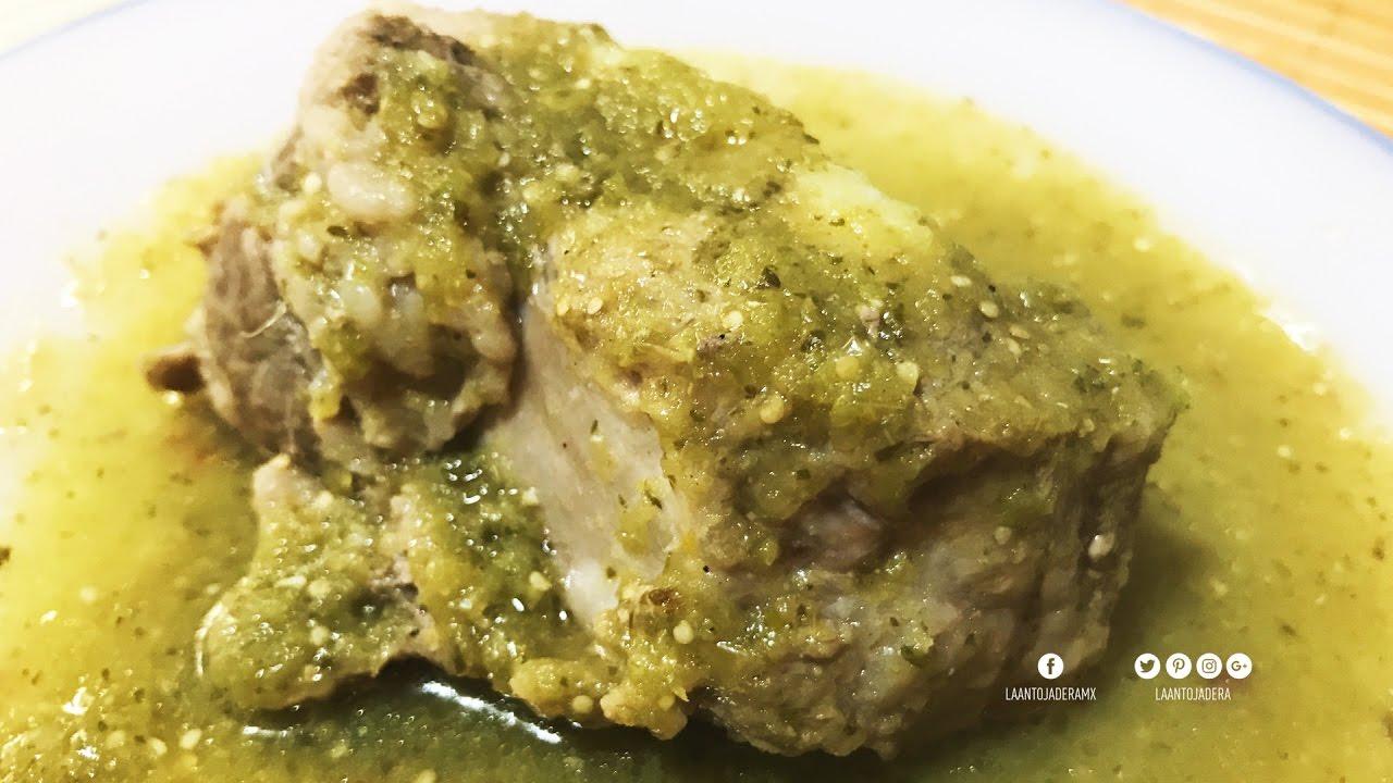 carne de puerco en chile verde